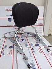 All Chrome Detachable Backrest Sissy Bar Harley Davidson Touring 09 and UP