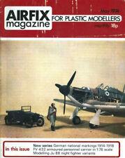 AIRFIX MAGAZINE 5/74 WW1 GERMAN NATIONAL MARKINGS_Ju88 NJG_CAM-SHIP HURRICANES