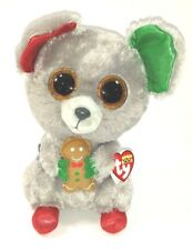 Mac the Mouse Ty Beanie Boos Plush Collectible Stuffed Animal 9 Inches Tall