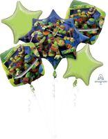 Teenage Mutant Ninja Turtles Party Supplies FOIL BALLOON BOUQUET Anagram USA