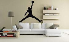 Michael Jordan 23 Logo Chicago Bulls  Basketball Player Wall Decal Vinyl Sticker