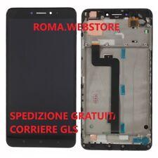 Display Lcd Touch screen + Frame Originale Xiaomi Mi Max 2 MAX2 Nero Black