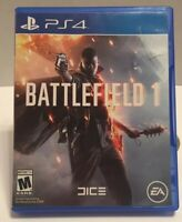 PS4 Battlefield 1 Video Game PlayStation EA