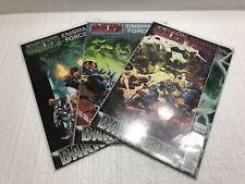 Lot Of 3 Comics. The Incredible Hulk's Enigma Force Dark Son #1-3 (2010-2011)