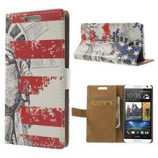 POUR HTC Desire 610 D610t D610n D610x RETOURNER LA HOUSSE ETUI LIVRE STAND USA