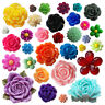 Assorted Bag Flower Mix -  Resin Flatback Cabochons Embellishments Card Craft