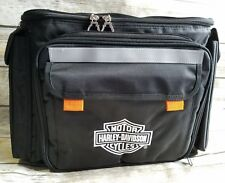 Harley Davidson Motorcycles Insulated Bag Cooler Picnic Set Plates Forks Spoons