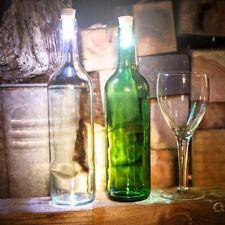 Luminoso Sughero LED Tappo Angoli Bottiglia Di Vino Nella Notte