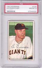 1952 Bowman Leo Durocher #146, HOF, PSA NM-MT 6, Giants
