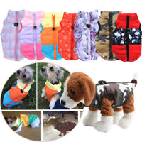 Dog Cat Coat Jacket Padded Vest Winter Apparel Clothing Puppy Costume Jumpsuit