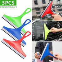 Car Auto Wiper Cleaner Microfiber Windshield Clean Pads Glass Window Tool Brush