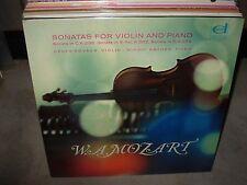 KOVACS / BACHER / MOZART sonatas for violin & piano 296 ( classical ) - SEALED -