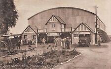 WW1, Hospital, Epsom  nr Sutton, Croydon, Recreation Hall  Woodcote Pk Camp PC