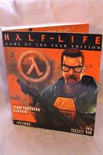 NEW & SEALED Half-Life: Game of the Year Edition PC 1999 Big Box