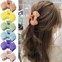 Women Fashion Large Hair Claw Crab Hairpin Acrylic Hair Best Clip Match N5G4