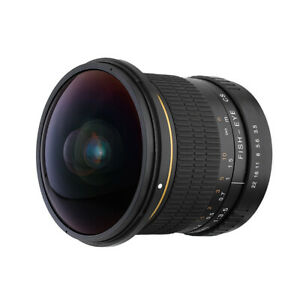 8mm F / 3.5 Aspherical  Lens Front Lens Tools DSLR Camera Accessories for  EOS