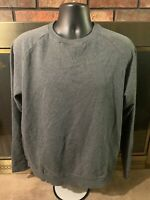 Reebok Crossfit Gray Crewneck Gym Training Sweatshirt Sweater Men's Size Large