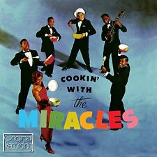 THE MIRACLES  - COOKIN' WITH THE MIRACLES  - NEW & SEALED CD ALBUM * SMOKEY *