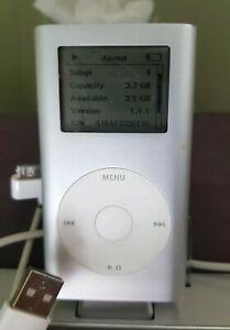 Apple iPod Mini 1st Generation (Model A1051) Silver (4GB)