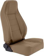 Smittybilt Reclining Front Seat Jeep CJ Wrangler YJ TJ JK 76-17 SpiceDenim 45017