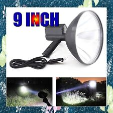 HID 9in 240mm Handheld Lamp Camping Hunting Fishing Spotlight 280000LM 12V 2800W
