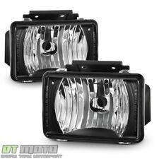 Black 2004-2012 Chevy Colorado Gmc Canyon Pickup Bumper Fog Lights Driving Lamps (Fits: Isuzu)