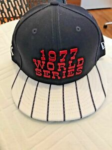 Rare NWT New York Yankees 1977 World Series New Era Limited Edition Cap Hat!