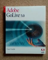 NEW & SEALED Apple Mac Adobe GoLive Go Live 5.0 User Guide