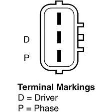 Remy 12841 Remanufactured Alternator