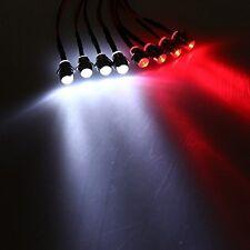 Shaluoman RC 1:10 LED Light Kit White And Red 5mm Revo Jato Traxxas Slash HPI