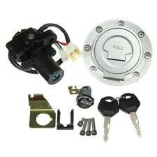Ignition Switch Lock & Fuel Gas Cap Key Set For Yamaha YZF R1 R6 01-12 FZ6 FZ1