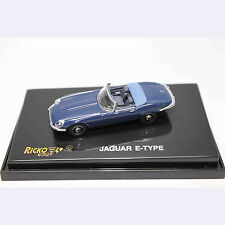 HO 1:87 RICKO 38920 1974 Jaguar E-Type Series III V-12 Convertible - Dark Blue