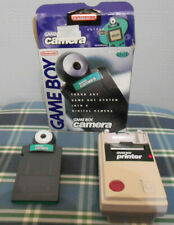 Gameboy Camera Green In Box with Game Boy Printer