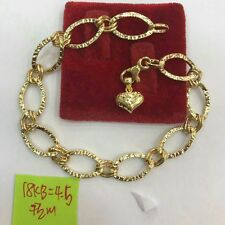 GoldNMore: 18K Gold Bracelet 7.5 inches A4.5G
