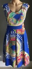 Gorgeous TIMELESS by VANESSA TONG Multi Colour Sleeveless Sun Dress Size 16