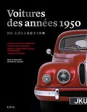 Voitures des années 1950 de collection, NEUF