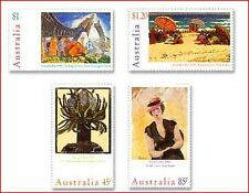 AUS750 Contemporary painting 4 stamps