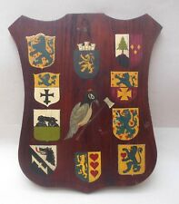 1947 Operation Woodpecker Oak Plaque ~ German Timber Occupied British Military