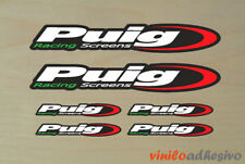 PEGATINA STICKER VINILO Puig racing screens moto autocollant aufkleber adesivi