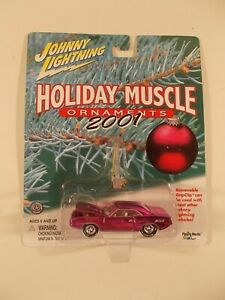Johnny Lightning 1/64 2001 Holiday Muscle '70 Hemi Cuda