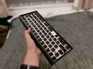 Tofu 60 Gateron Ink Blacks Lubed Custom Keyboard