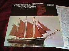 THE WORLD OF TV THEMES - ORIG UK LP IN LAMINATED SLEEVE - MONTY PYTHON, MAGPIE