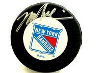 Mark Messier  Autographed New York Rangers Hockey Puck
