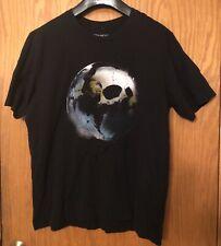 Jean-Michel Jarre Oxygene 3 T-shirt Skull Black XL Short Sleeves Crewneck