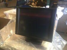 """FUJITSU D77 17"""" POS LCD MONITOR (PV877T) ,TEAMPOS W/ STD VGA/ DVI/ USB, NEW"""