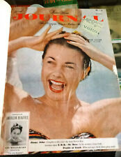 LADIES HOME JOURNAL Bound Volume of 6 Issues July-December 1949