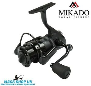 MIKADO ''BLACK CRYSTAL'' SPINNING REEL, VARIETY SIZES, PIKE, PERCH.