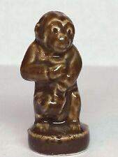 Circus Monkey English Wade Figurine Miniature Porcelain Solid Vintage Whimsies