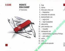 NAVAJA VICTORINOX MIDNITE MINI CHAMP 17 FUNCIONES 06386 0.6386