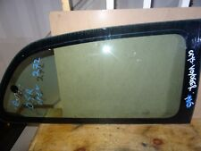 CHRYSLER GRAND VOYAGER MK3 96-00 REAR RIGHT DRIVER SIDE QUARTER WINDOW GLASS